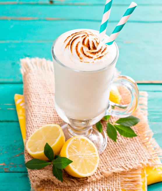 Milk Shake de Limão Siciliano